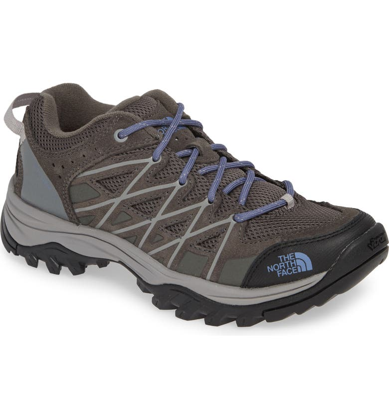 THE NORTH FACE Storm III Waterproof Hiking Shoe, Main, color, DARK GULL GREY/ MARLIN BLUE