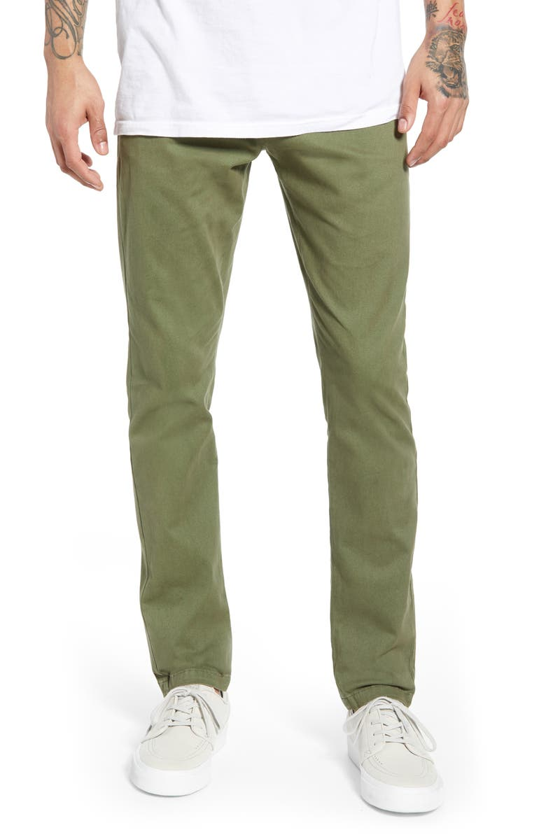 WAX LONDON Strood Slim Fit Chinos, Main, color, 250
