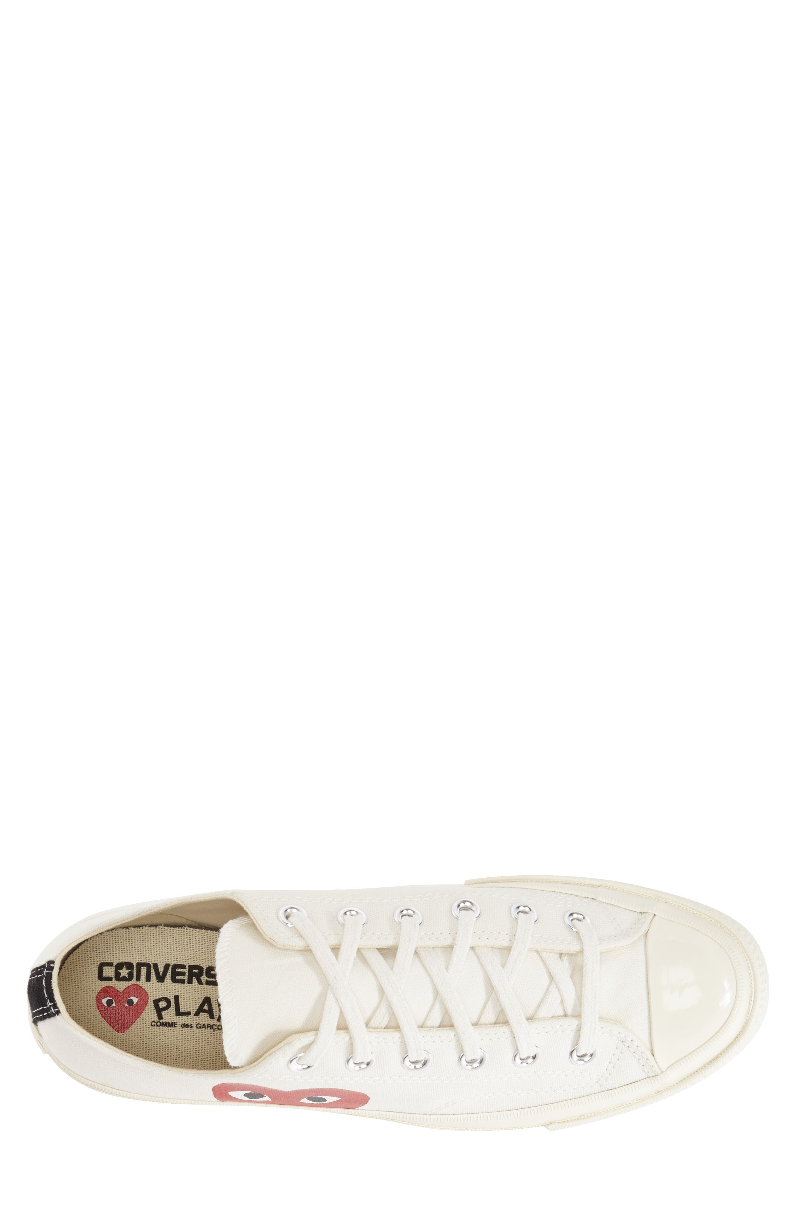 ,                             x Converse Chuck Taylor<sup>®</sup> Hidden Heart Low Top Sneaker,                             Alternate thumbnail 2, color,                             BEIGE
