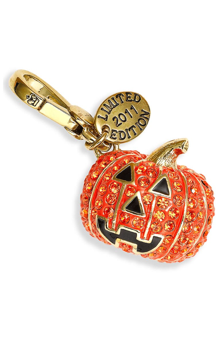 JUICY COUTURE Pumpkin Charm, Main, color, 800