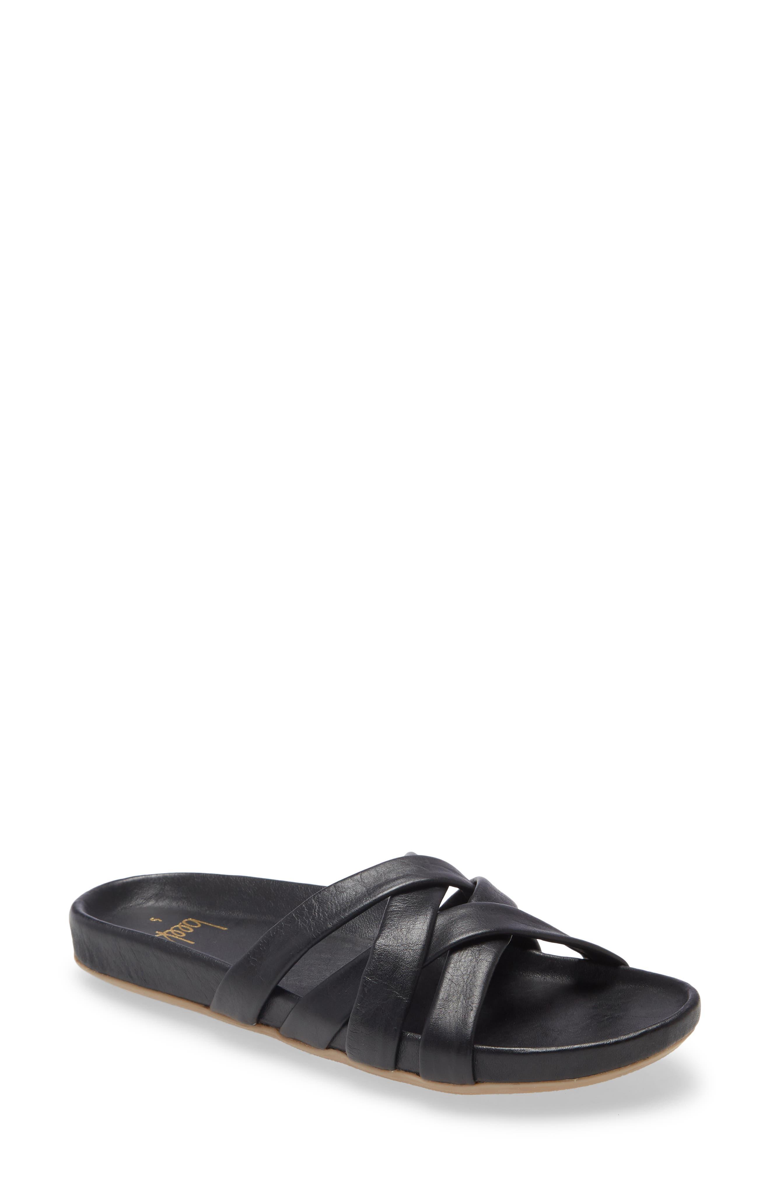 Mandarin Slide Sandal
