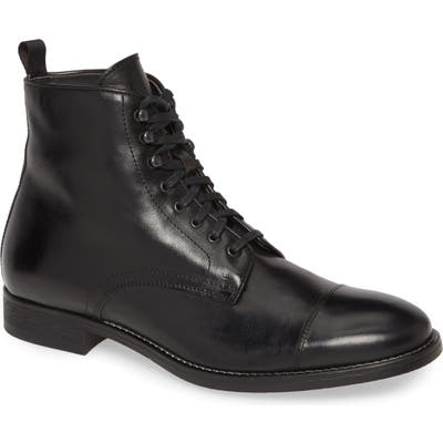 To Boot New York Richmond Cap Toe Lace-Up Boot, Black