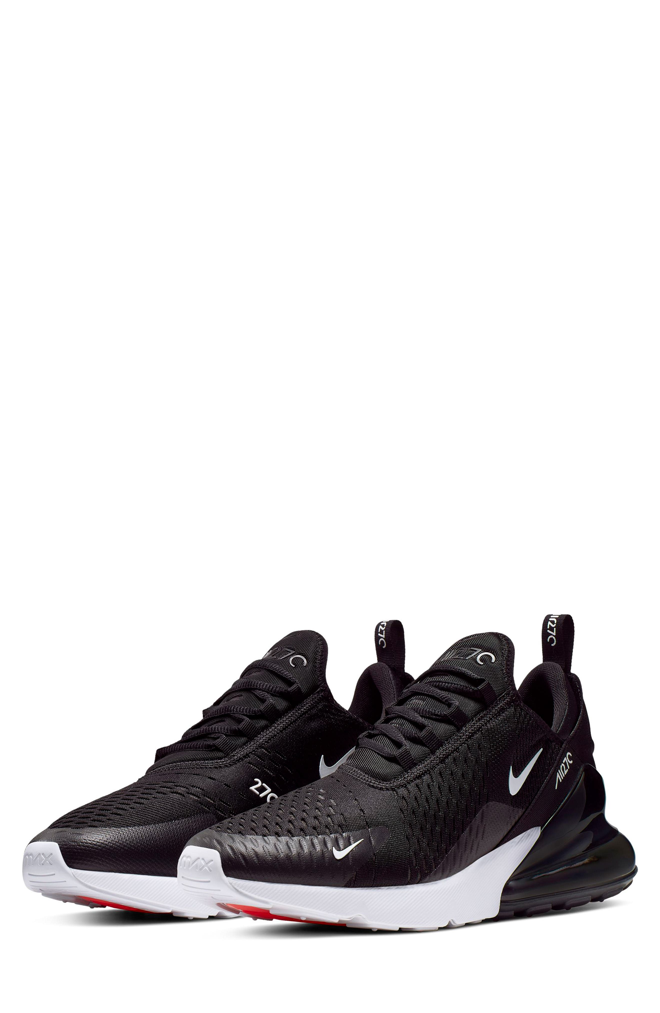 Nike Air Max 270 React Gs Grade School Older Kids Black