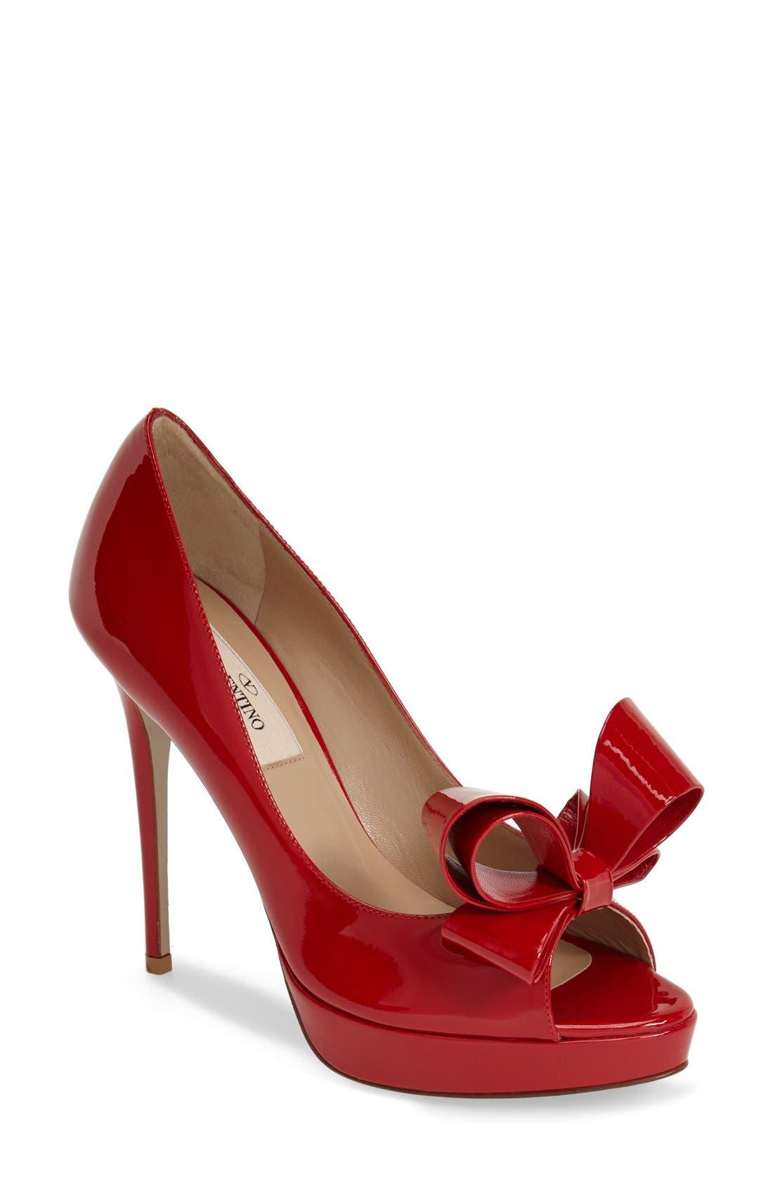 ,                             Couture Bow Platform Pump,                             Main thumbnail 20, color,                             600