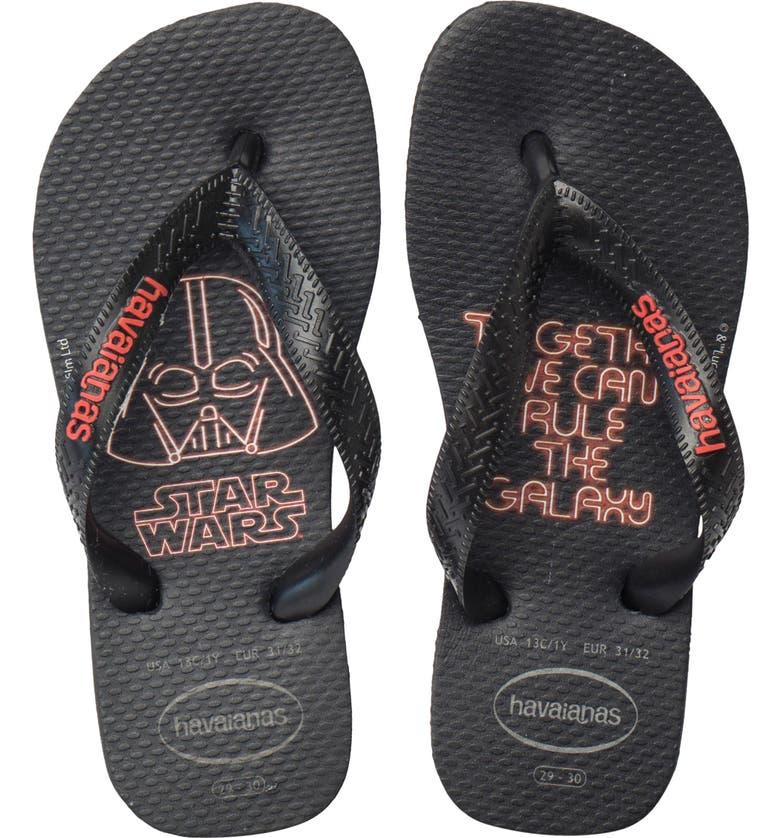 HAVAIANAS 'Star Wars<sup>™</sup>' Flip Flop, Main, color, 006