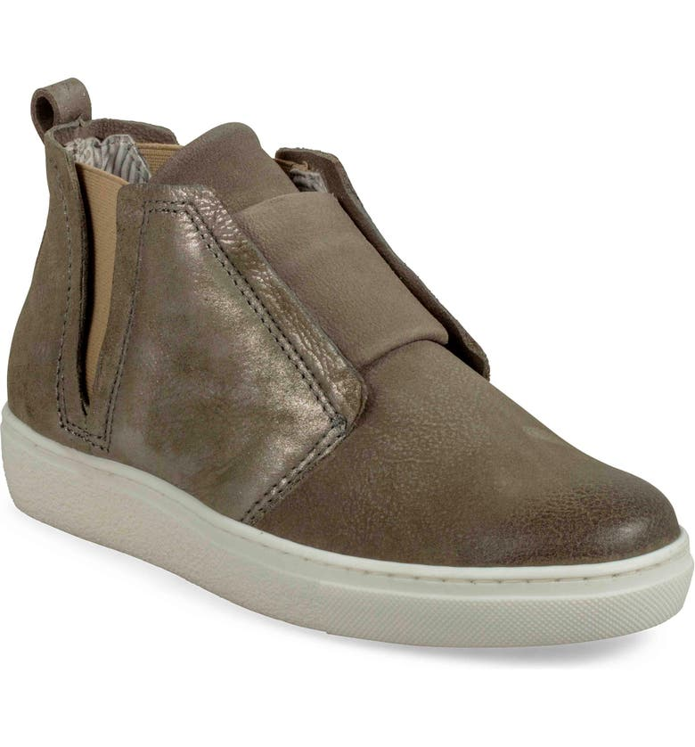 MIZ MOOZ Laurent High Top Sneaker, Main, color, SAGE METALLIC LEATHER