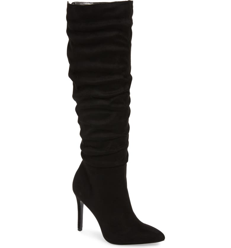 CHARLES BY CHARLES DAVID Duet Knee High Boot, Main, color, BLACK