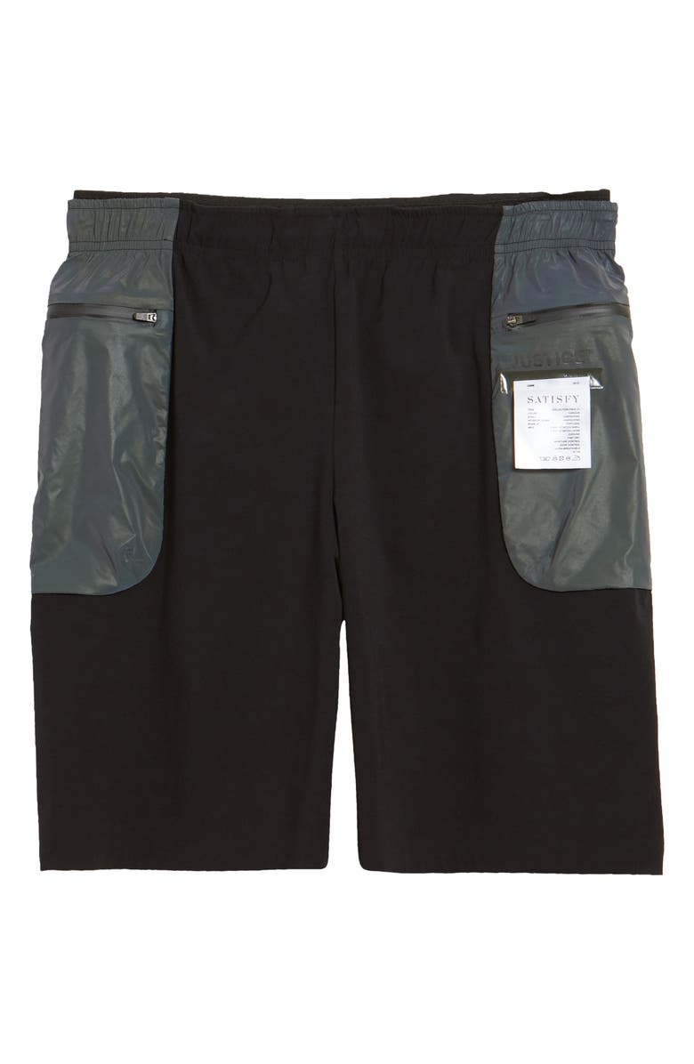 SATISFY Justice<sup>™</sup> Performance Shorts, Main, color, BLACK SPECTRUM