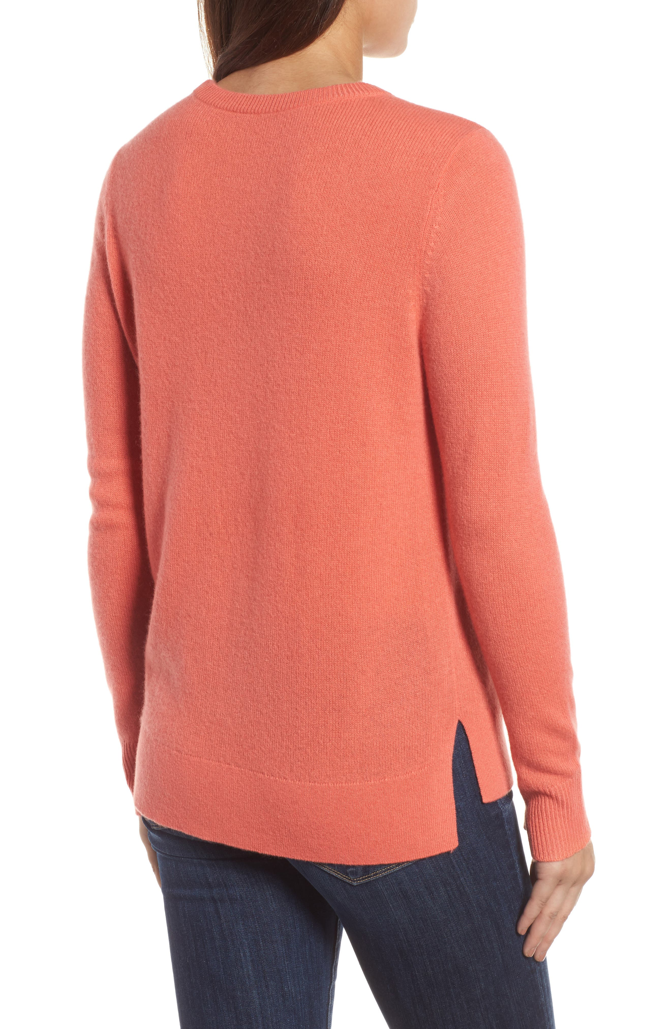 ,                             Crewneck Cashmere Sweater,                             Alternate thumbnail 232, color,                             950