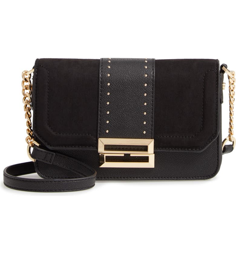 TOPSHOP Cassie Crossbody Bag, Main, color, 001