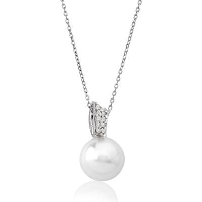 Majorica 12Mm Simulated Pearl Pendant Necklace