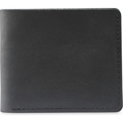 Red Wing Classic Bifold Leather Wallet - Black