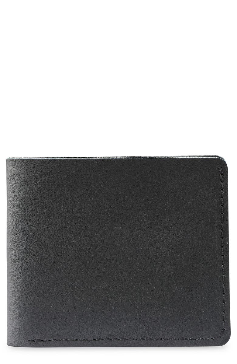 RED WING Classic Bifold Leather Wallet, Main, color, 001