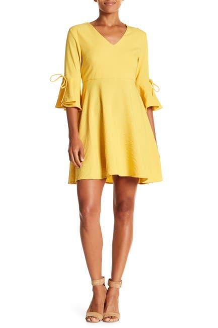 Image of Sugarlips Merino Bell Sleeve Dress