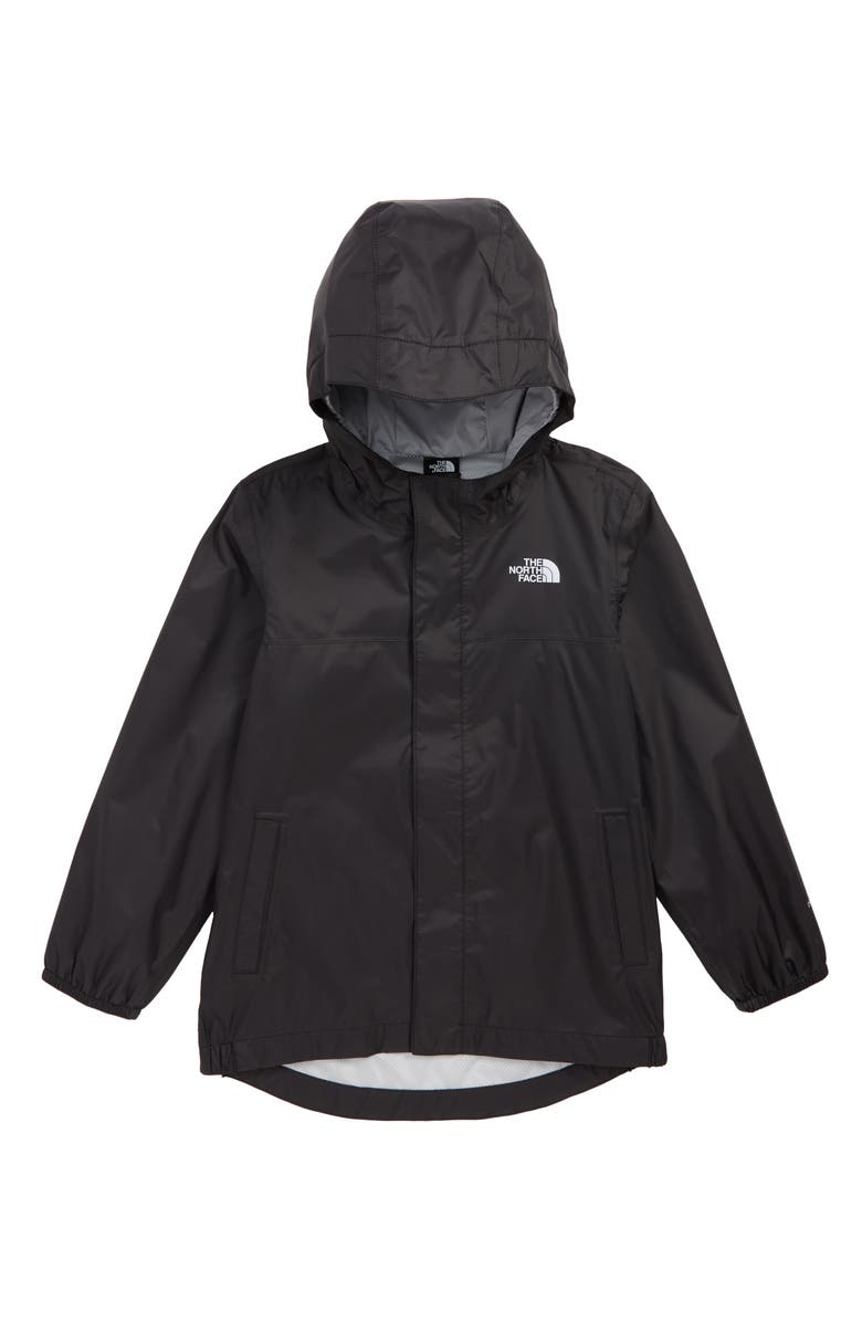 THE NORTH FACE Tailout Hooded Rain Jacket, Main, color, 001