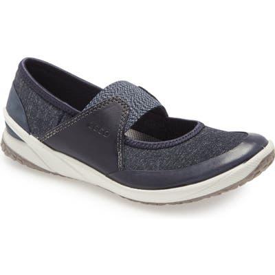 Ecco Biom Life Mary Jane Sneaker, Blue