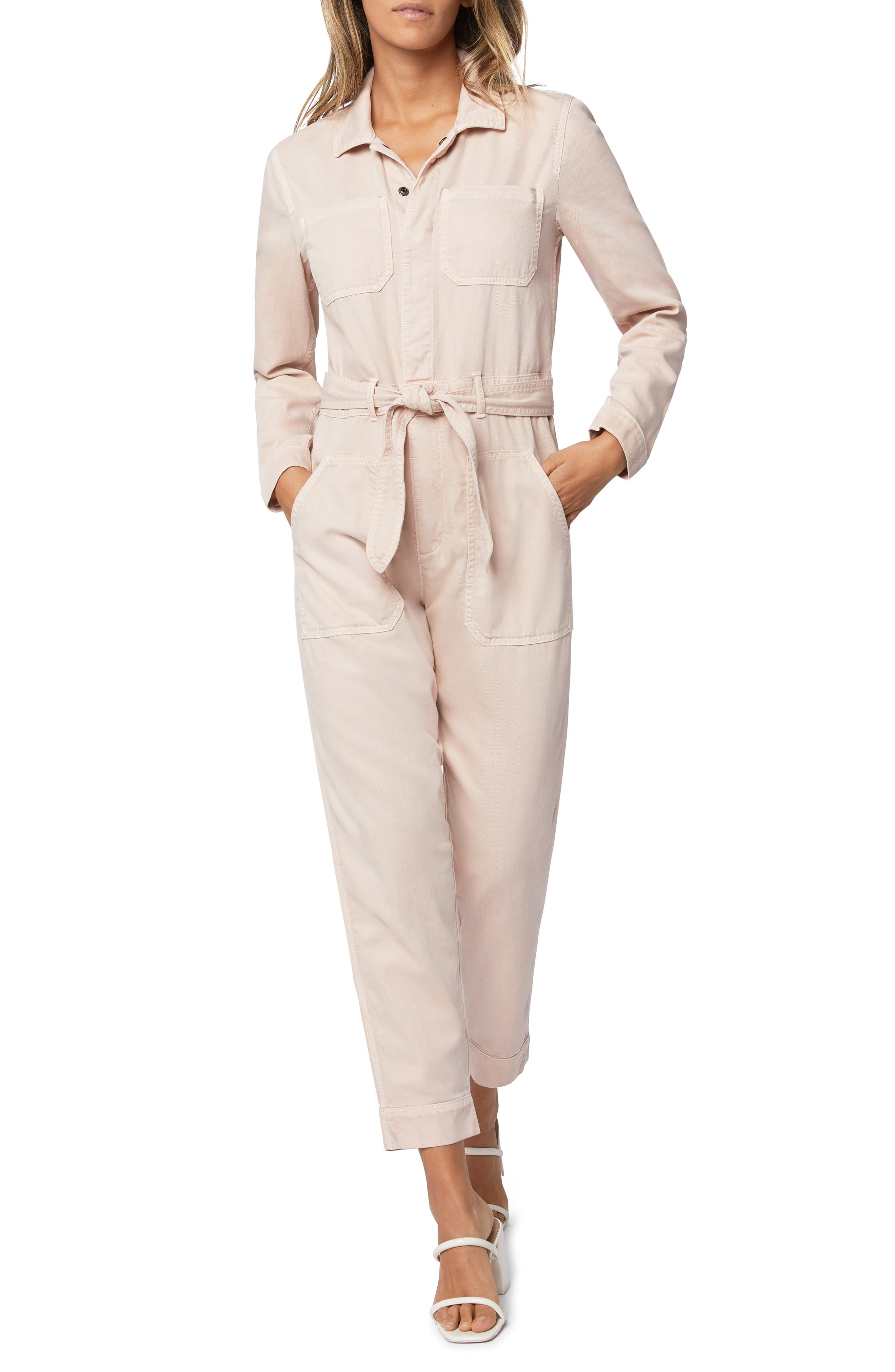 Looking cool is an easy job when you\\\'re wearing this workwear-inspired jumpsuit cinched with a tie belt. Style Name: Joe\\\'s Rika Utility Jumpsuit. Style Number: 6027652. Available in stores.
