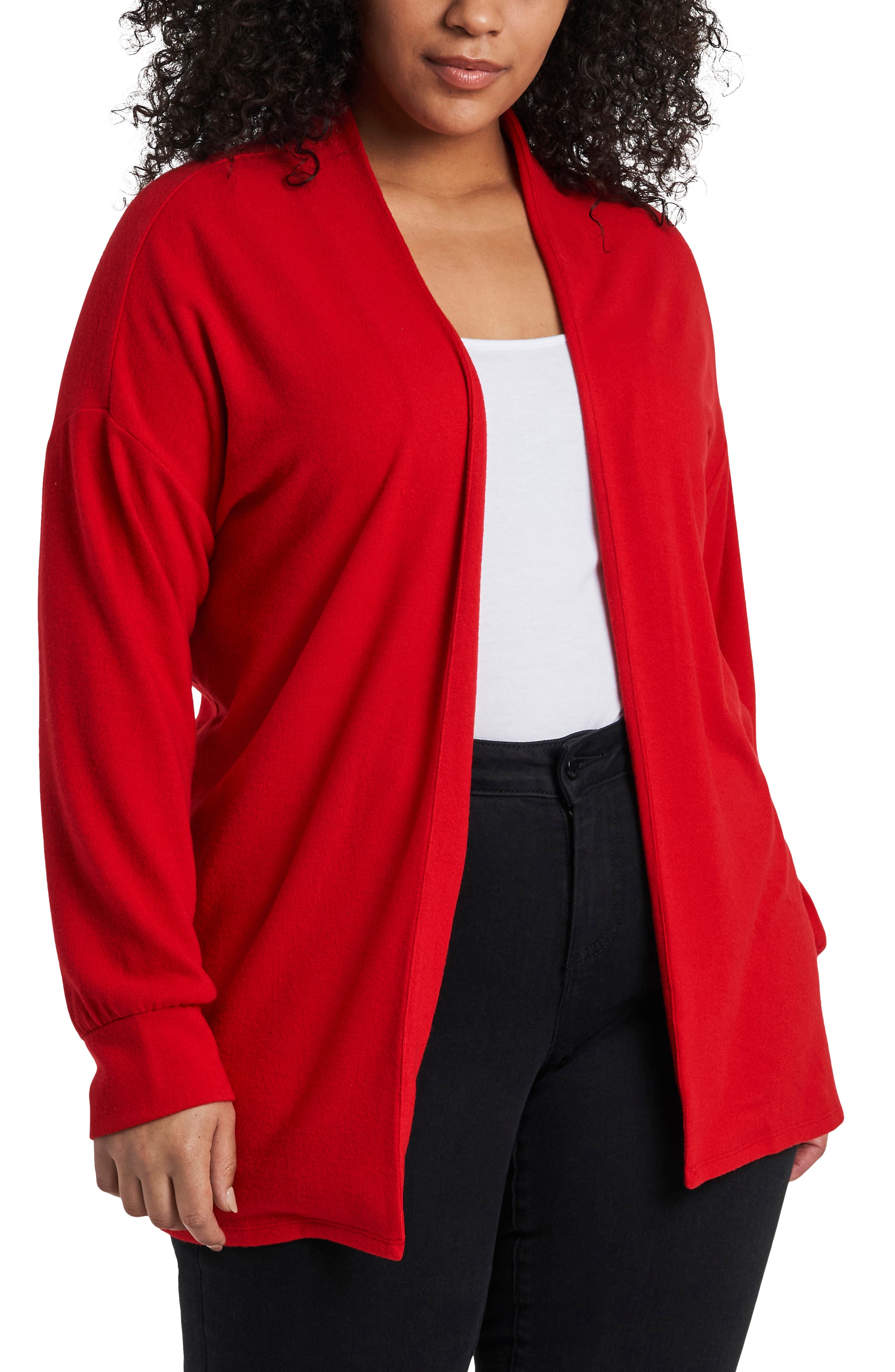 Vince Camuto COZY OPEN FRONT CARDIGAN