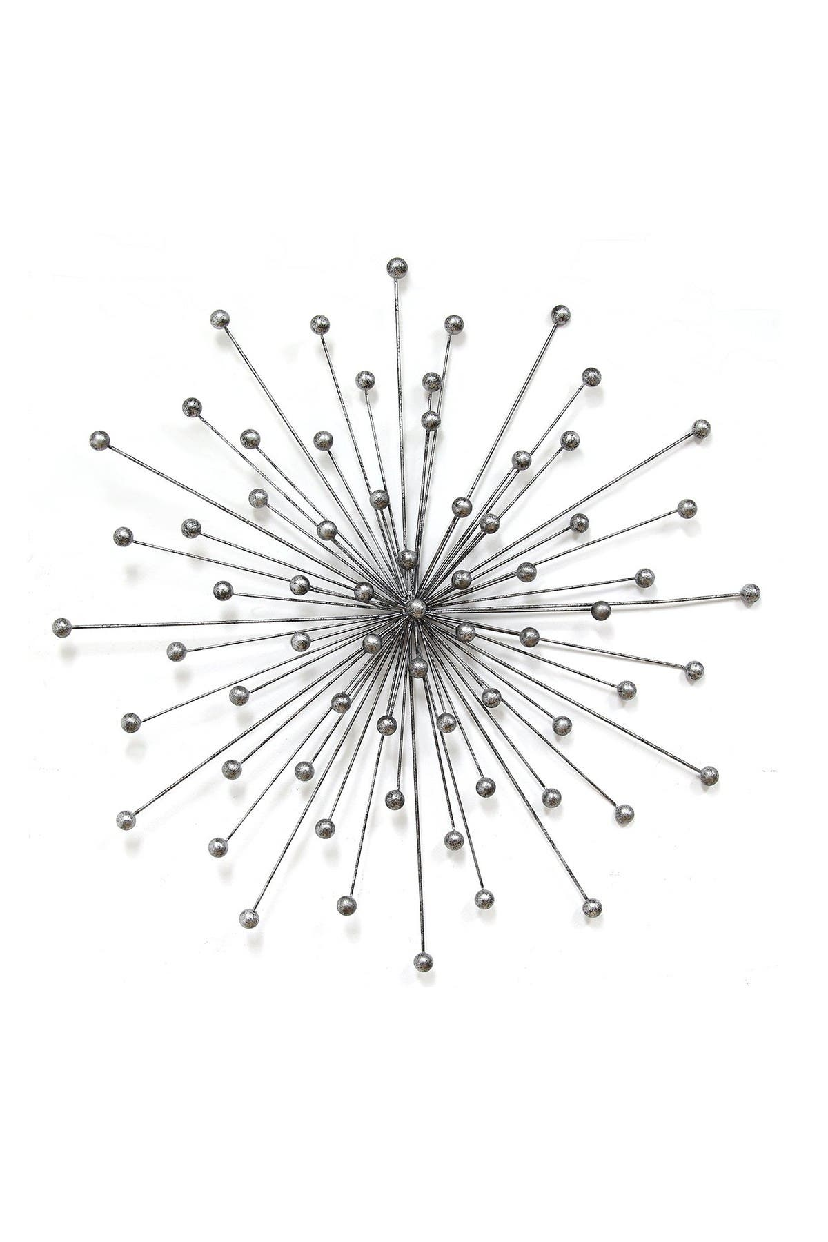 Image of Stratton Home Silver Burst Wall Decor