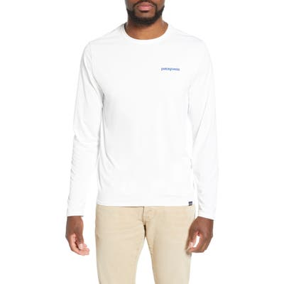 Patagonia Capilene Cool Daily Long Sleeve T-Shirt, White