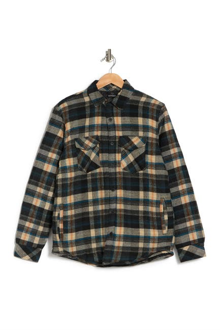 Image of Burnside Long Sleeve Flannel Shirt