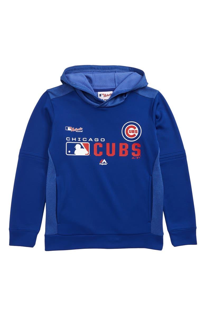 MAJESTIC MLB Winning Streak - Chicago Cubs Hoodie, Main, color, ROYAL BLUE
