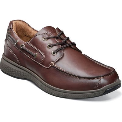 Florsheim Great Lakes Moc Toe Derby, EEE - Brown