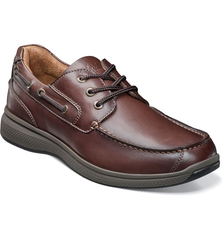 FLORSHEIM Great Lakes Moc Toe Derby, Main, color, BROWN