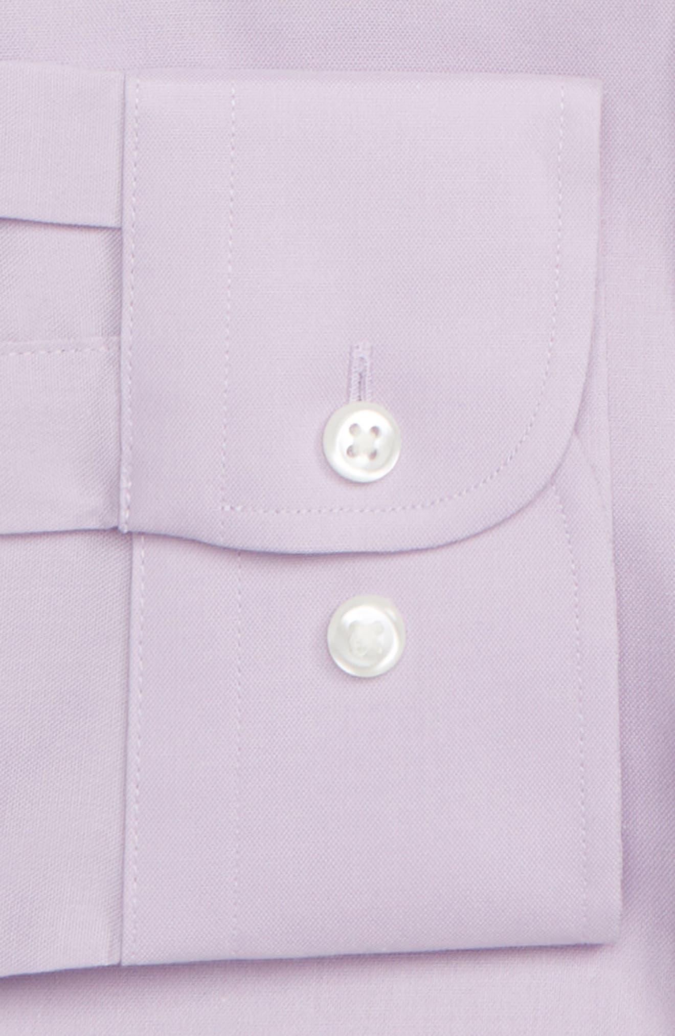,                             Extra Trim Fit Non-Iron Solid Dress Shirt,                             Alternate thumbnail 36, color,                             520