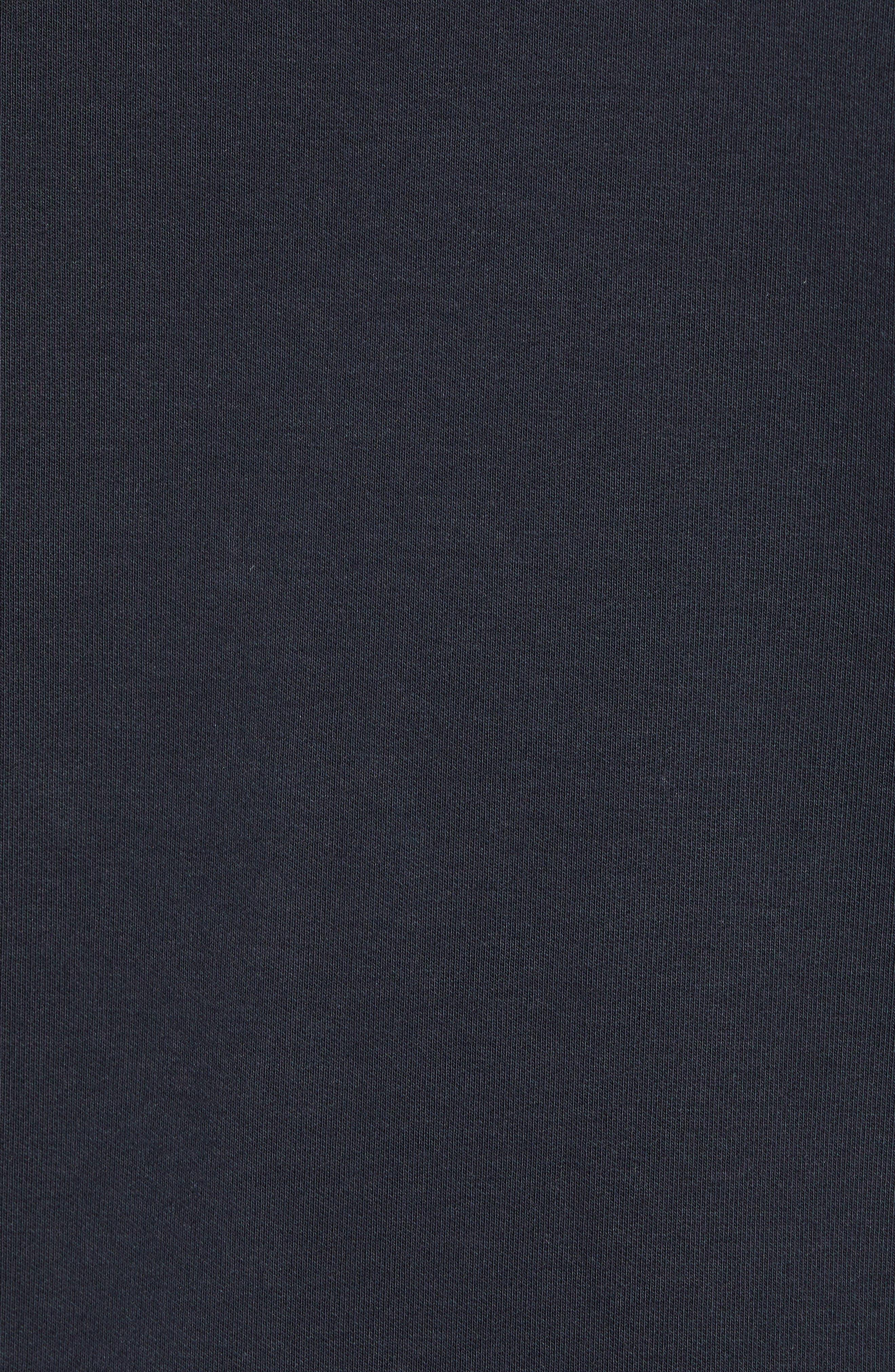 ,                             Cavalry Knit Bomber Jacket,                             Alternate thumbnail 5, color,                             BLACK