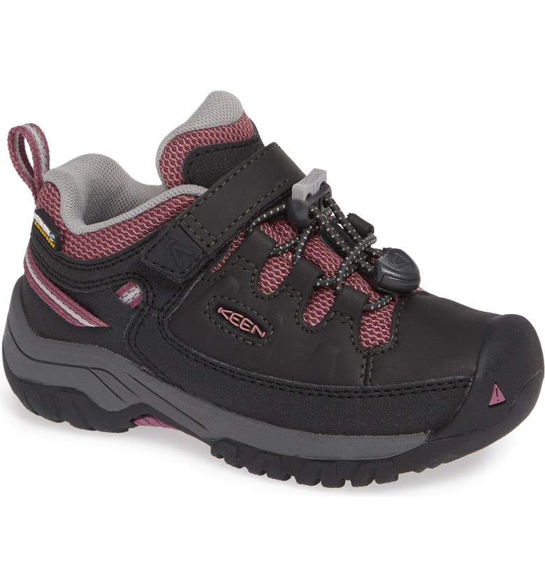KEEN Targhee Low Waterproof Sneaker, Main, color, 001