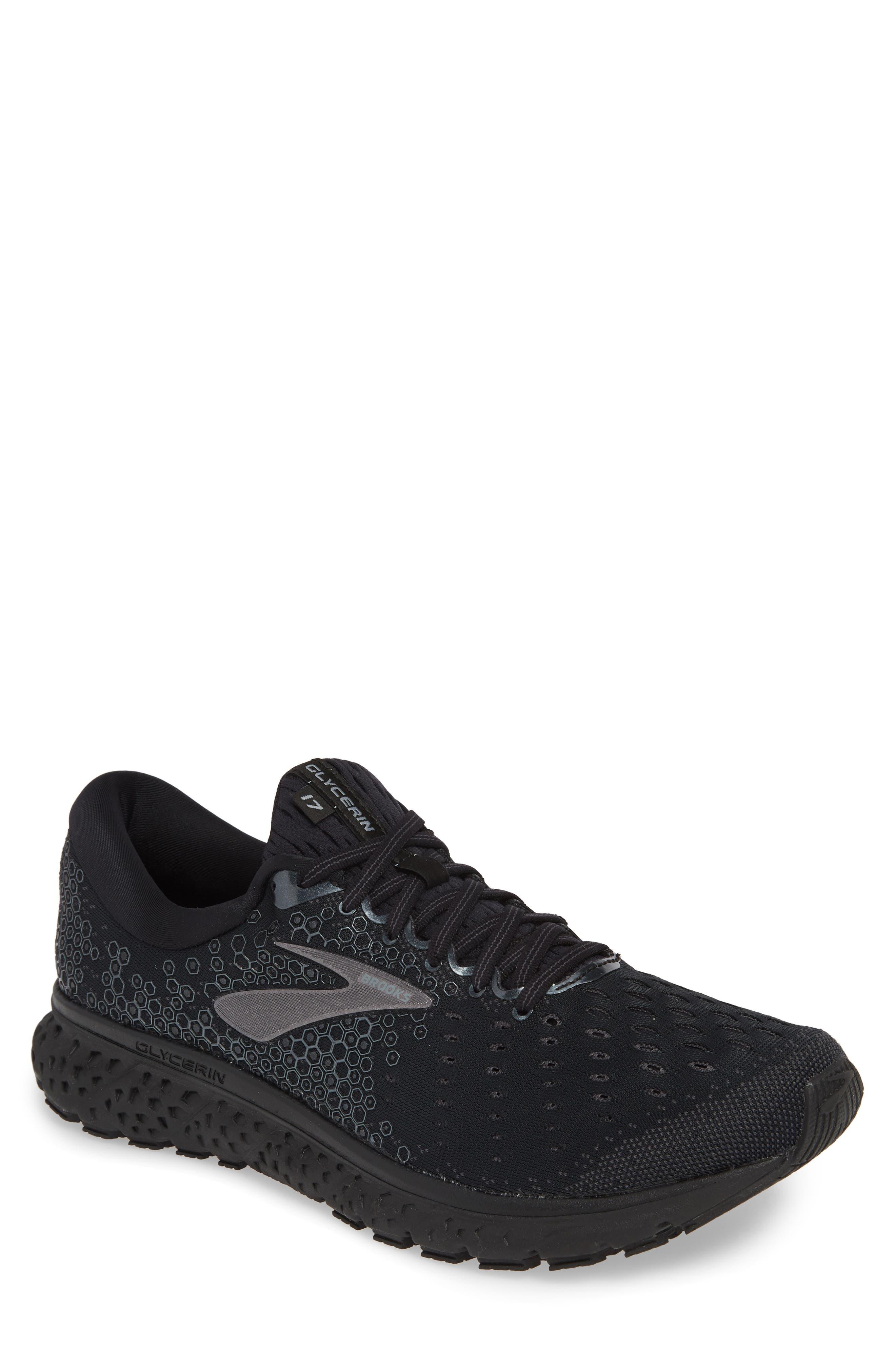 Brooks Glycerin 17 Running Shoe - Black
