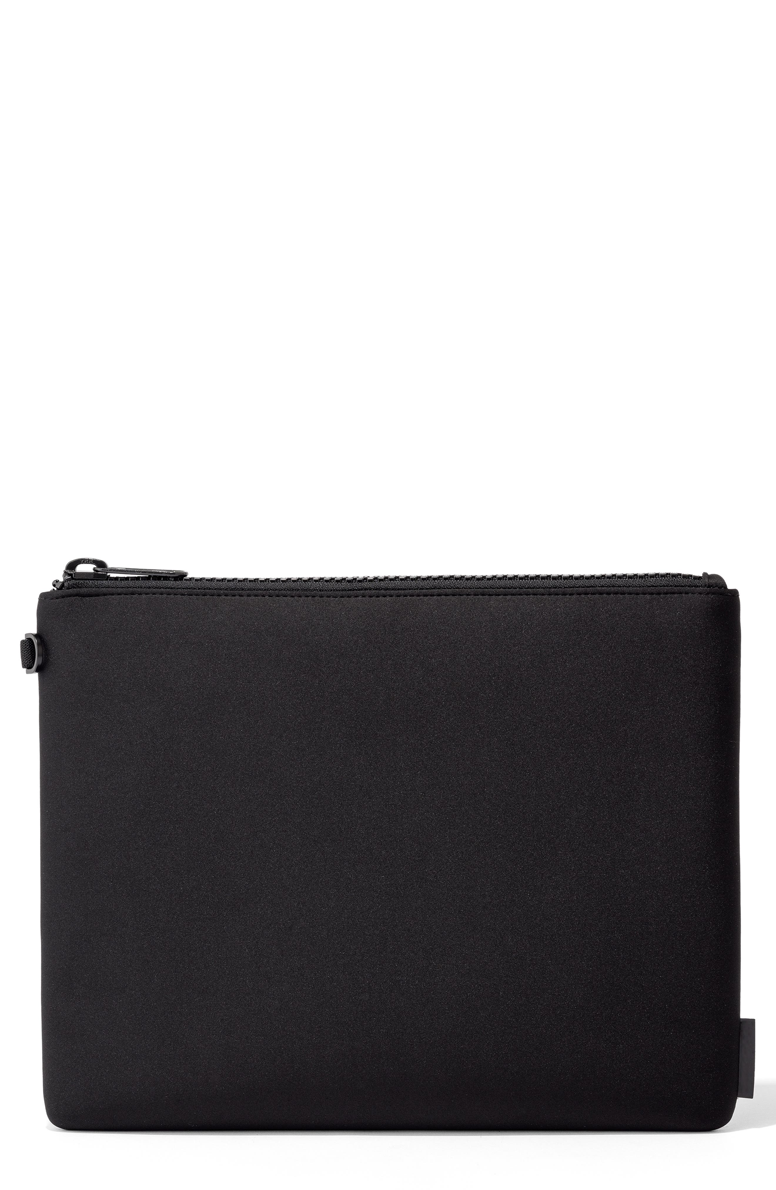 Scout Extra Large Zip Top Pouch, Main, color, ONYX