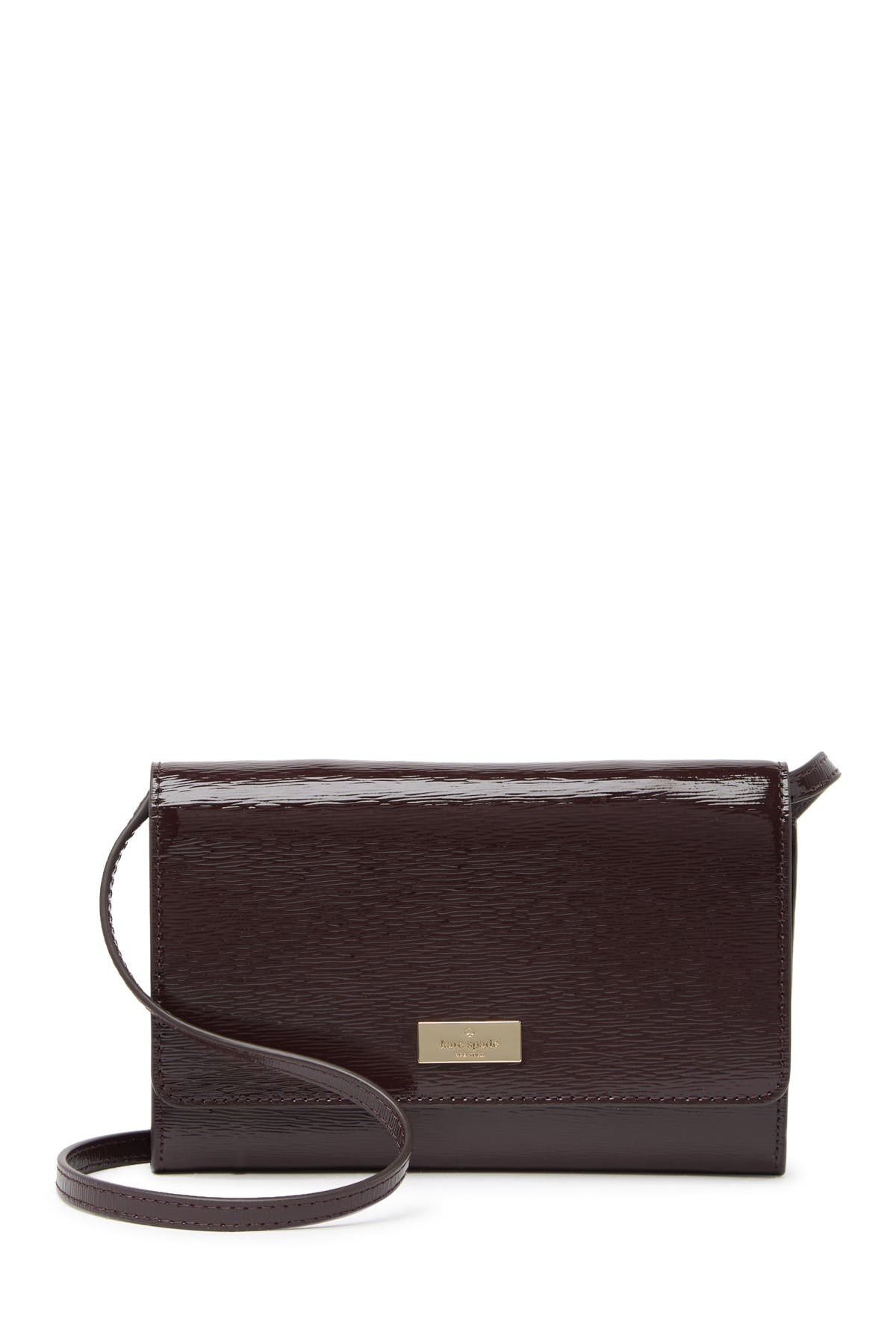 Image of kate spade new york leather summer crossbody bag