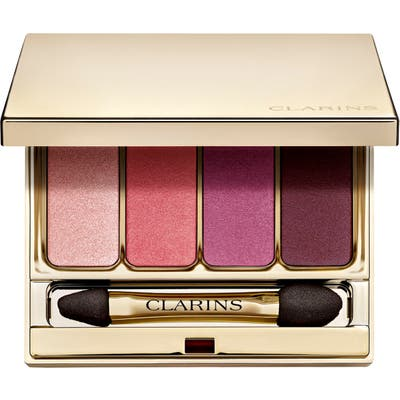 Clarins 4-Color Eyeshadow Palette - 07 Lovely Rose