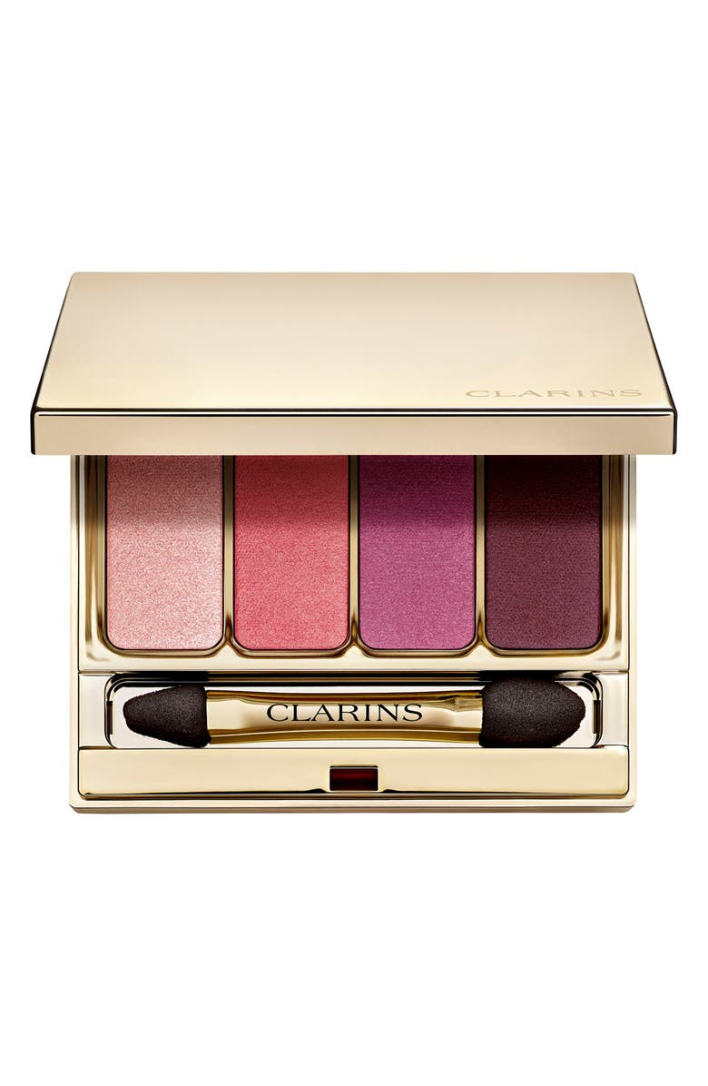 CLARINS 4-Color Eyeshadow Palette, Main, color, 07 LOVELY ROSE