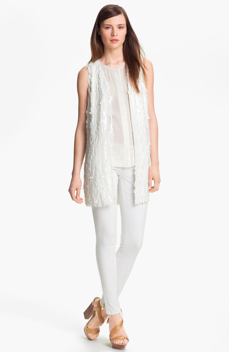 RACHEL ZOE 'Martin' Sequin Vest, Main, color, 900
