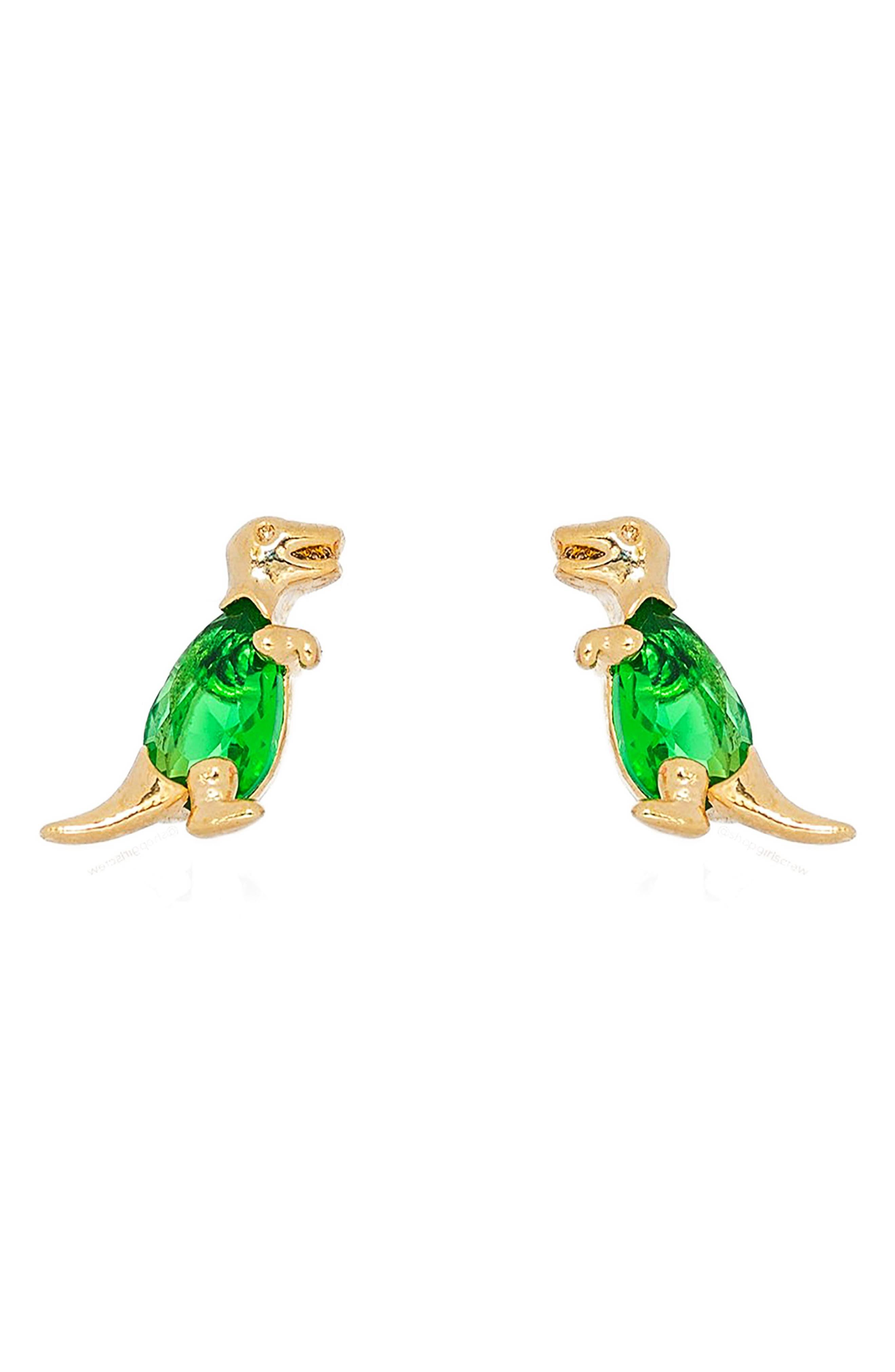 Terrific T-Rex Stud Earrings