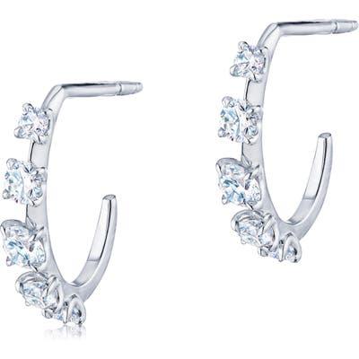 Kwiat Starry Night Diamond Huggie Hoop Earrings