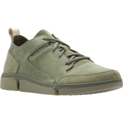 Clarks Triverve Lace Up Sneaker, Green