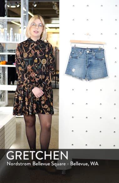 Kate High Waist Denim Shorts, sales video thumbnail