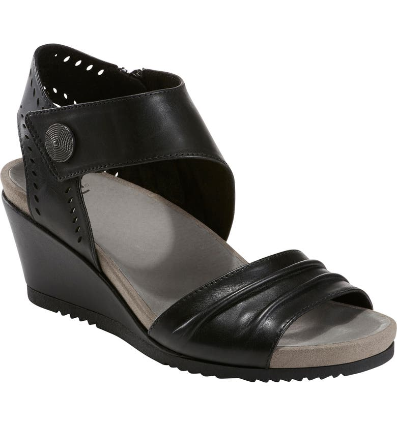 EARTH<SUP>®</SUP> Barbados Wedge Sandal, Main, color, 001