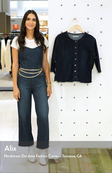 Elanese Crop Denim Jacket, sales video thumbnail