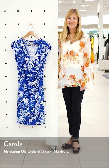 Floriana Faux Wrap Dress, sales video thumbnail