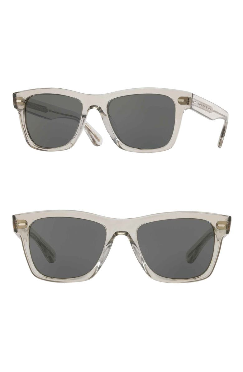 OLIVER PEOPLES Oliver 51mm Sunglasses, Main, color, GREY