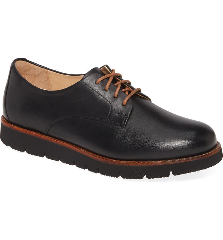 SAMUEL HUBBARD SamSport Derby, Main, color, BLACK LEATHER