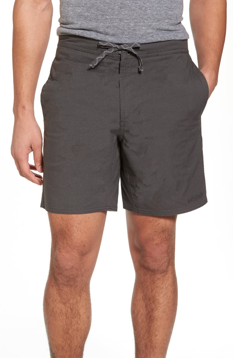 PATAGONIA Stretch All-Wear Hybrid Shorts, Main, color, FORGE GREY