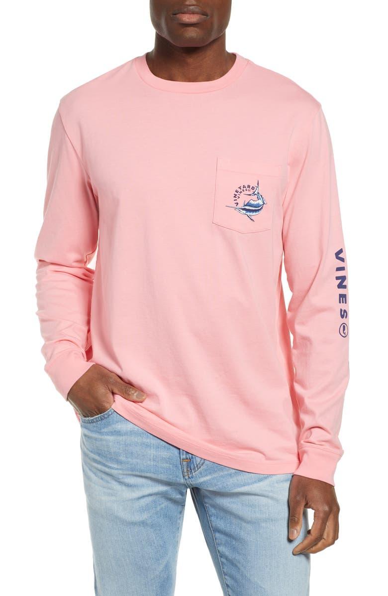 VINEYARD VINES Sailfish Vortex T-Shirt, Main, color, 692