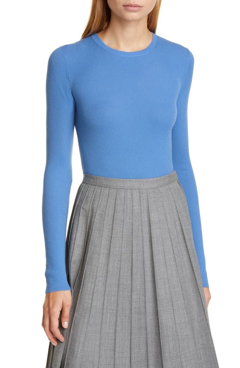 MICHAEL KORS COLLECTION Crewneck Cashmere Sweater, Main, color, 418