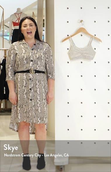 Kaitlin Seamless Rib Pull-On Bralette, sales video thumbnail